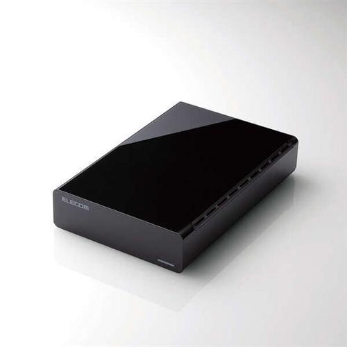 エレコム ELD-FTV020UBK TV向け外付けハードディスク 2TB