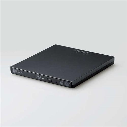 エレコム LBD-PVA6U3CVBK Type-C対応 USB3.2 Gen1(USB3.0) ポータブルBD ブラック