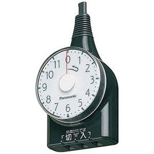 パナソニック WH3111BP(ブラック) タイマー(11時間型) ダイヤルタイマー