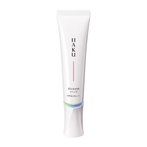 資生堂(SHISEIDO) HAKU 薬用 美白美容液ファンデ ピンクオークル10 赤みよりでやや明るめの肌色 (30g) 【医薬部外品】