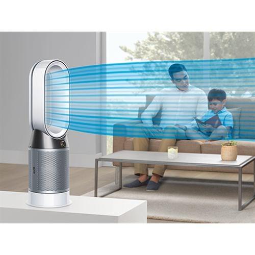 ファンヒーター ダイソン 空気清浄機   HP04IBN 空気清浄ファンヒーター Dyson Pure Hot+Cool アイアン/ブルー Dyson