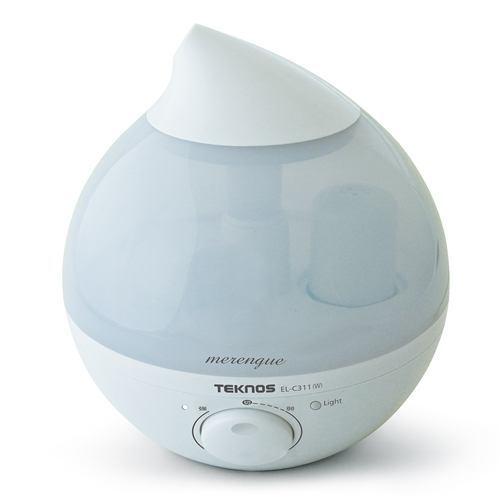 千住 ELC311W 滴型超音波加湿器 TEKNOS 2.8L ホワイト