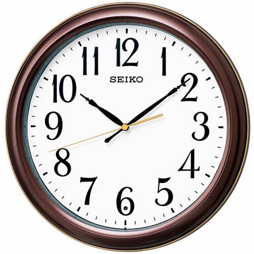 セイコークロック KX234B 電波掛時計 数字大きめ