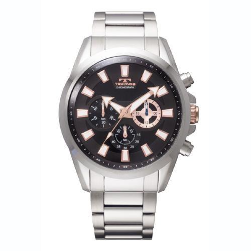 テクノス TECHNOS TSM616SB 腕時計  ブラック