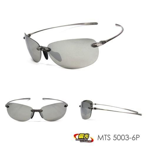 (株)ミック MPS18-MTS5003ヘンコウ-6P 超軽量偏光スポーツサングラス montagna  ブラック