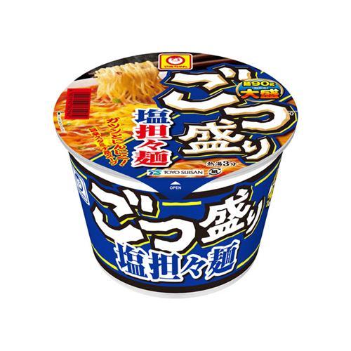 東洋水産(株) マルちゃん ごつ盛り 塩担々麺 カップ 112g