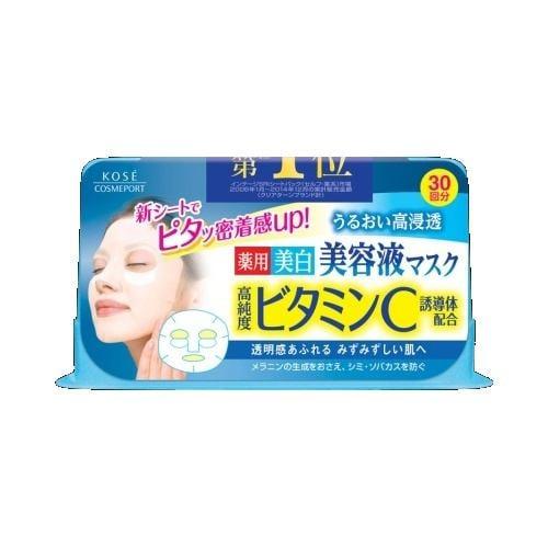 コーセーコスメポート クリアターン エッセンスマスク ビタミンC (30回分)