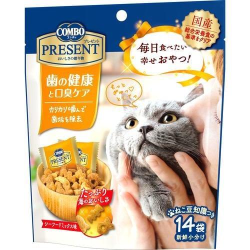 日本ペットフード コンボ プレゼント キャット おやつ 歯の健康と口臭ケア 42g