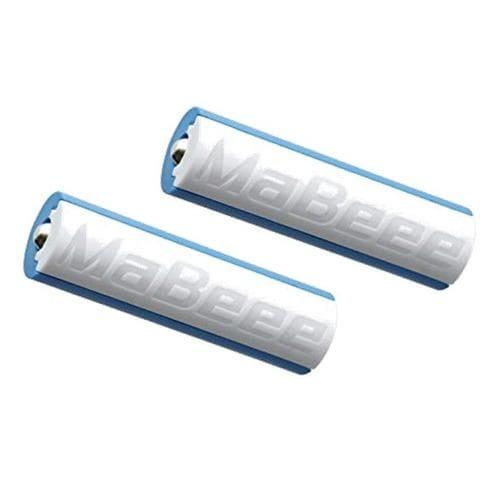 ノバルス プログラミング対応モデル MaBeee(マビー) 乾電池型IoT 2本入 スマホでおもちゃを動かせる電池型IoT  MB-3005WB-2