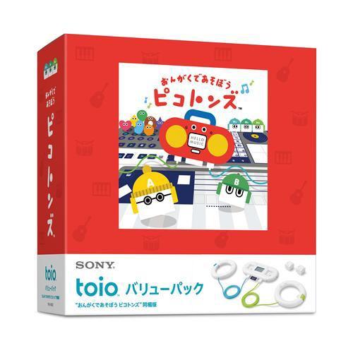 """toio(TM) バリューパック """"おんがくであそぼう ピコトンズ"""" 同梱版 TPHJ-10002"""