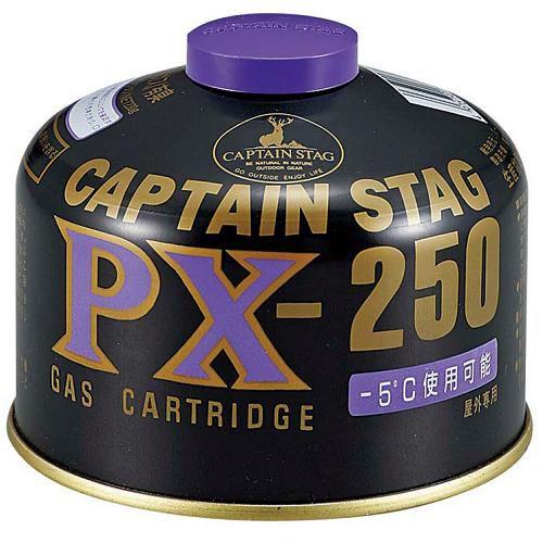 CAPTAIN STAG M-8406 キャプテンスタッグ パワーガスカートリッジPX-250