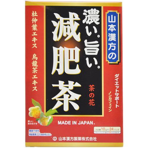 山本漢方製薬 山本漢方の濃い旨い減肥茶 (10g×24包) 【ダイエットサポート】