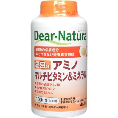 アサヒ ディアナチュラ 29アミノ マルチビタミン&ミネラル 300粒 【栄養機能食品】