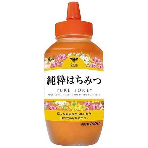 医食同源ドットコム 純粋はちみつ (1000g) 【健康食品】