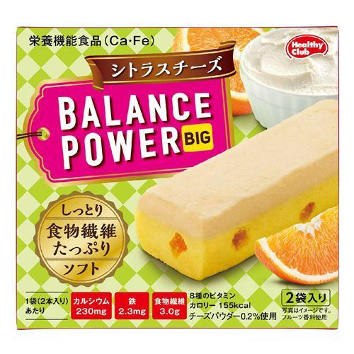 ハマダコンフェクト バランスパワービッグ シトラスチーズ 4本