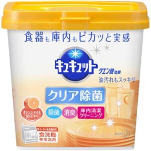 花王 キュキュット クエン酸効果 オレンジオイル配合 食洗機専用洗剤 680g 【日用消耗品】