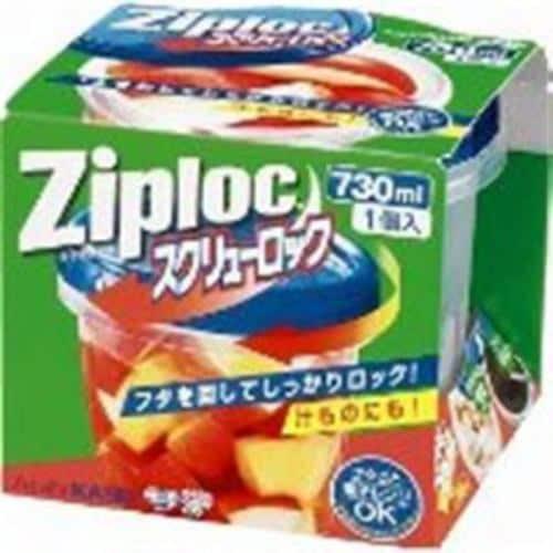旭化成 ジップロック スクリューロック(730mL×1コ入) 【日用消耗品】