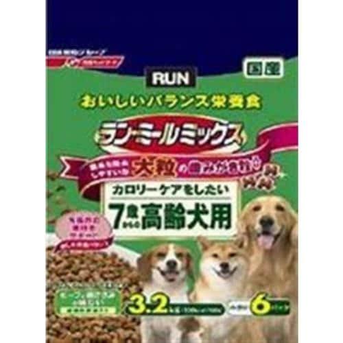 日清ペットフード 523720 ラン・ミールミックス 大粒7歳からの高齢犬用  3.2kg