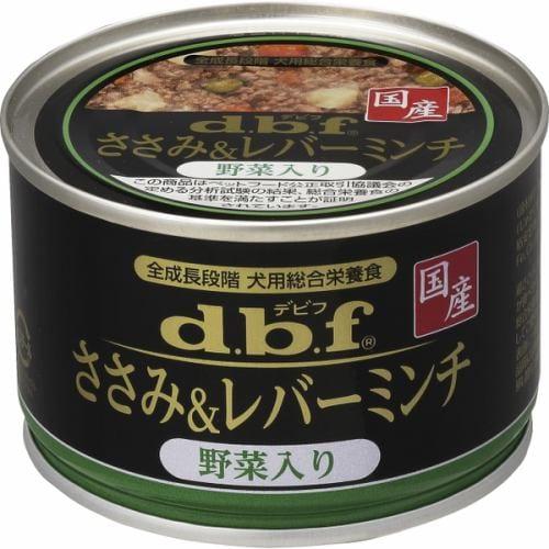デビフペット ささみ&レバーミンチ野菜 150g