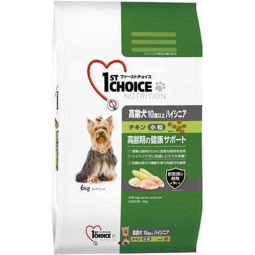 アース・ペット ファーストチョイス 高齢犬 ハイシニア 小粒 チキン 6kg 10歳以上