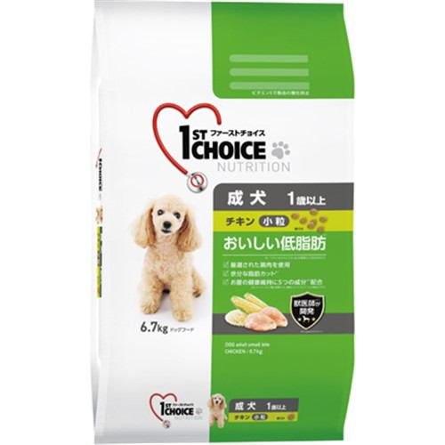 アース・ペット ファーストチョイス 成犬 小粒チキン 6.7kg 1歳以上